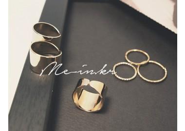 Double Trinity Rings