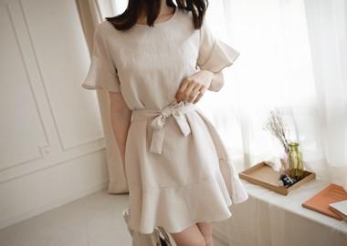 Maleah Dress (Beige)