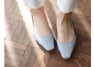 Romantic Spring Slingback Heels