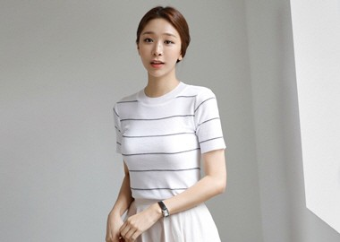 Soy Stripe T-Shirt