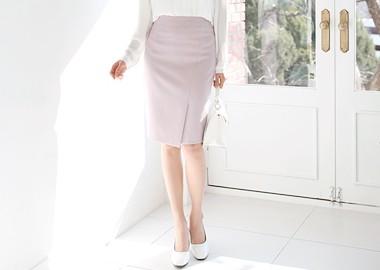 Rich Slit Skirt