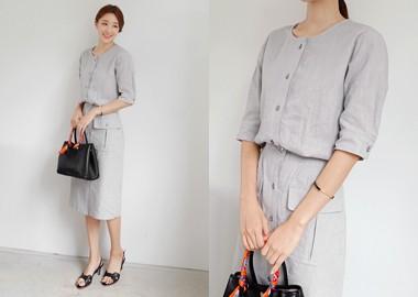 Bress Linen Dress