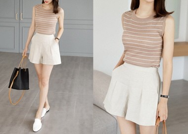 About Linen Short Pants