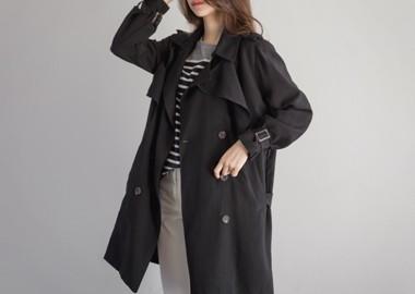 Asia Trench Coat (Black)
