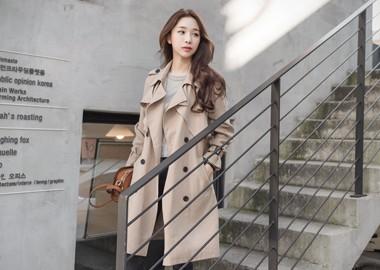 Asia Trench Coat (Beige)
