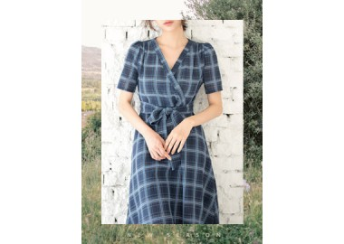 Ottilie Wrap Dress