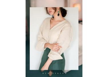 Areli Linen Blouse