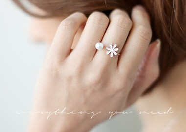 Brize Pearl Ring