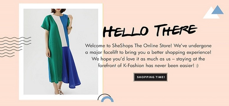 Welcome to SheShops The Online Store