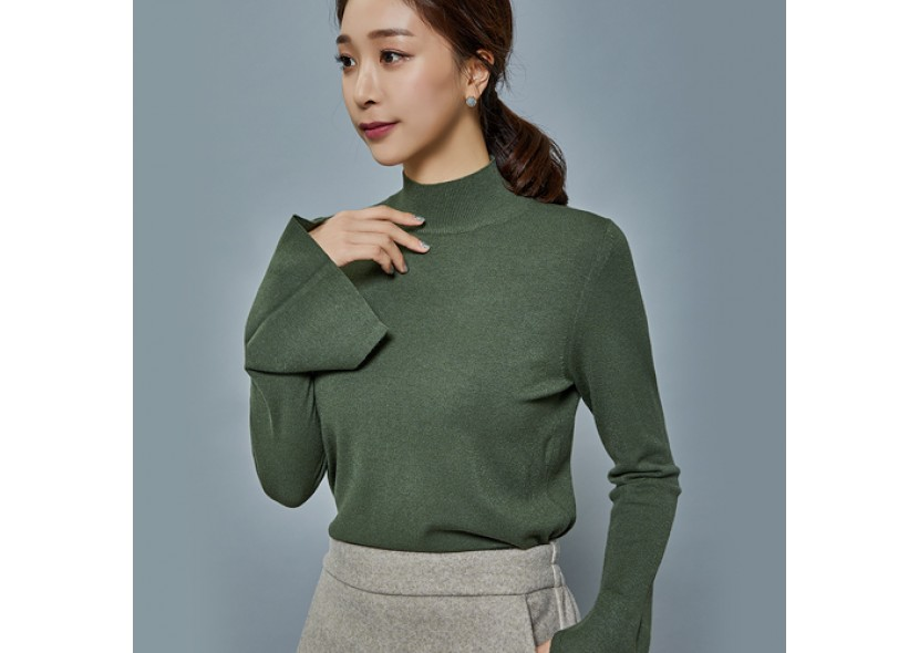 Bushra Turtleneck Knit