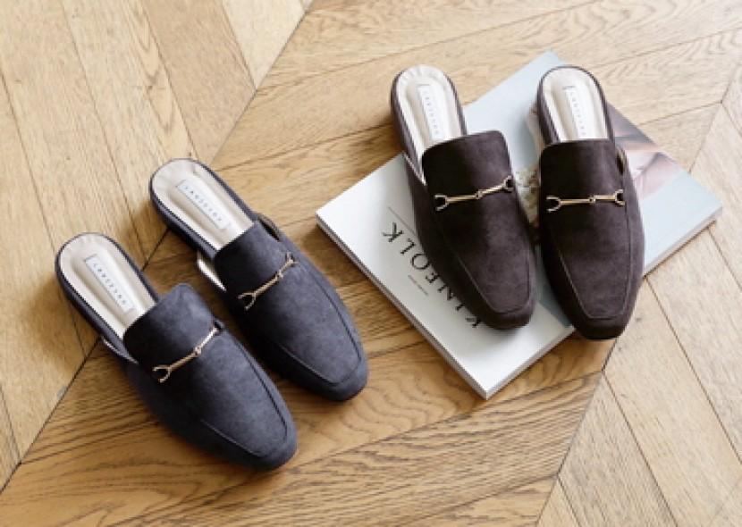 Bizo Suede Slippers
