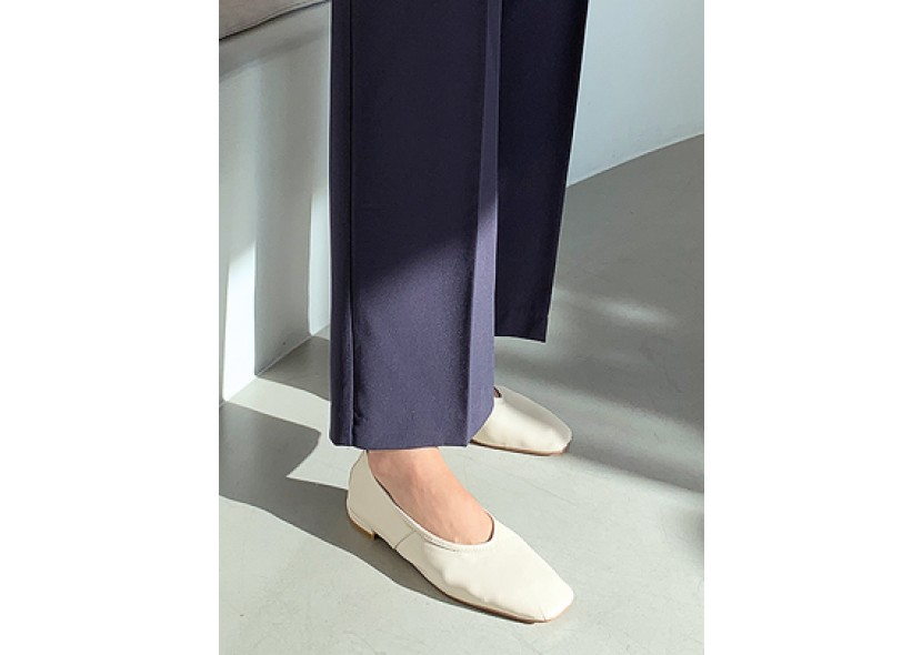 Daily Square Flat Shoes