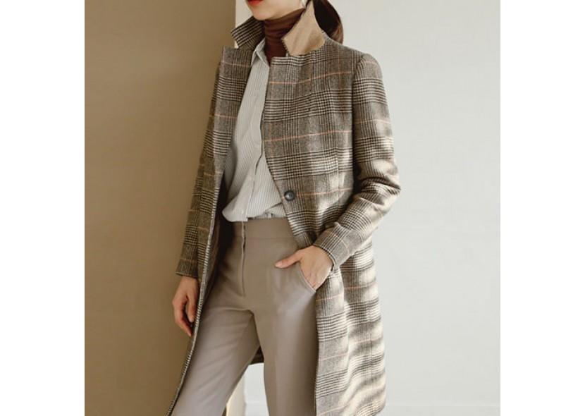 MelisaCheck Coat