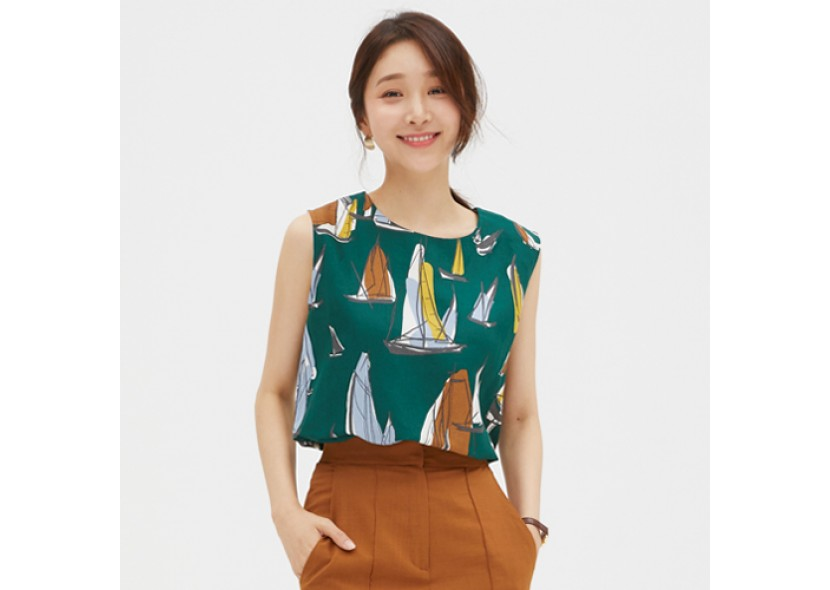 Mahi Sleeveless Blouse