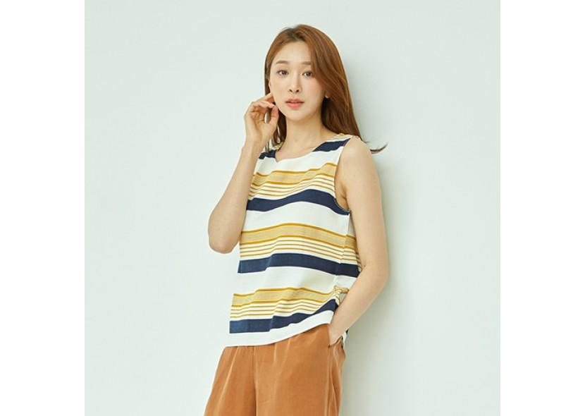 Diva Color Block Stripe Sleeveless