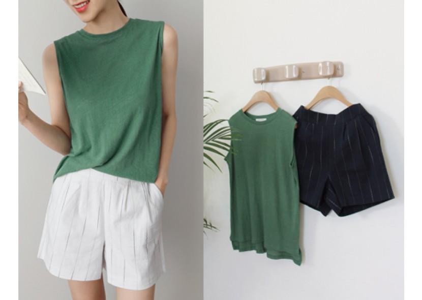 Herb Cotton Natural Shorts