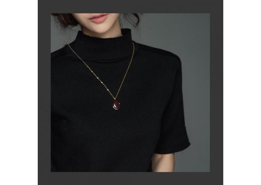 Burgundy Necklace