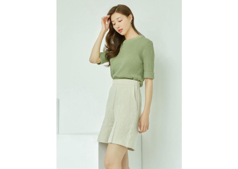 Vera Linen Shorts