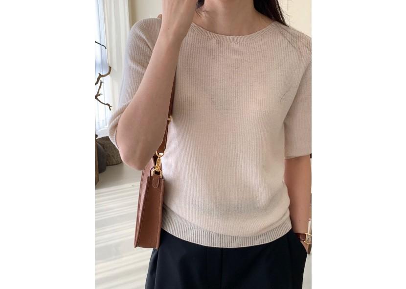 Jess Natural Knit