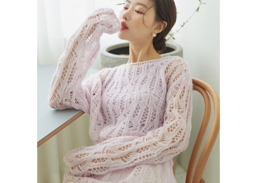 Laurine Net Knit