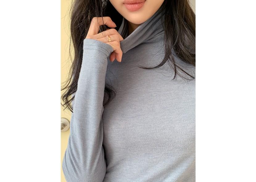 Lousiana turtleneck T-shirt