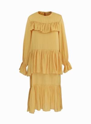 Geri Frilly Dress