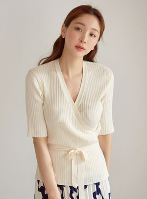 Katie Wrap Knit