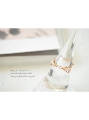 Alma Ring (Pink Gold)