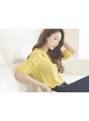 Cretchen Blouse (Yellow)