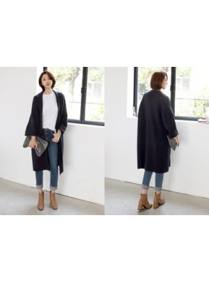 Charles Wool Knit Coat
