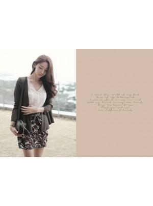 Camellia Jacket  (Khaki)