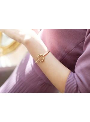 Gold Peace Bracelet
