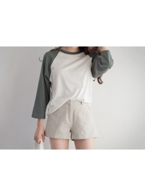 Michaela Shorts (Beige)