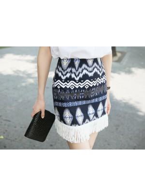 Anahi Tassel Skirt
