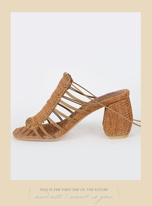 Kara Lace up  Sandals