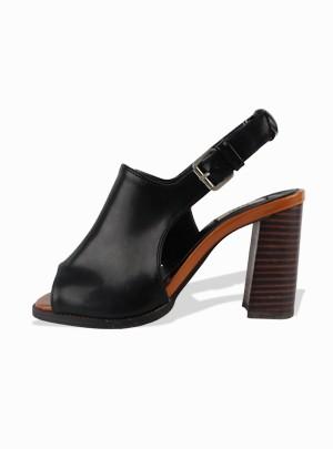 Wide Open Slingback Heels