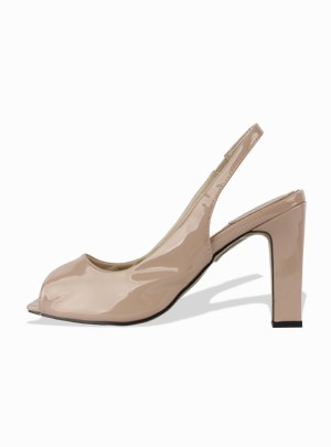 Patio Platform Heels