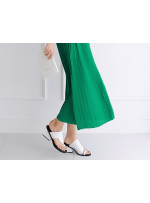 Rebeca Middle Sandals (White) - Size 240 Only