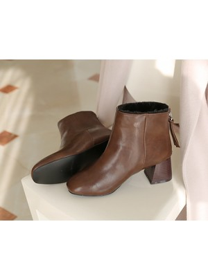 Fur Line Boots