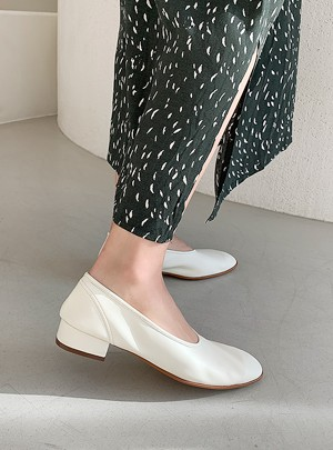 Modern Round Flat Shoes