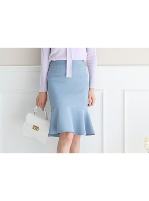 Frill Flounce Skirt