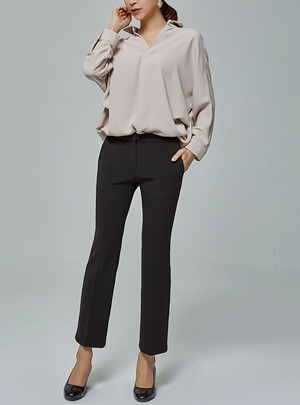 Louisa Boots-Cut Pants
