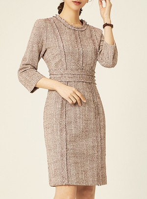 Myrtle Tweed Dress