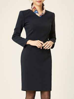 Melina V-Neck Dress