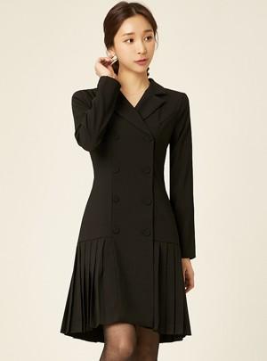 Jia Pleats Dress