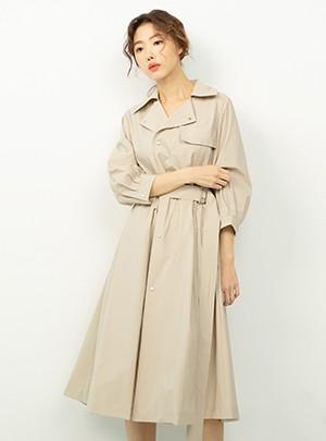 Florence Dress(Beige)
