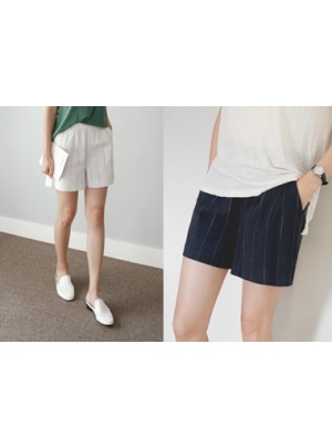 Herb Cotton Natural Shorts