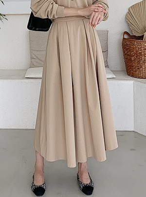 Marcy Flare Long Skirt