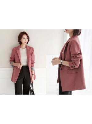 Vivian Sleeve Color Combination Jacket