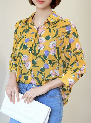 Adel Flower Blouse